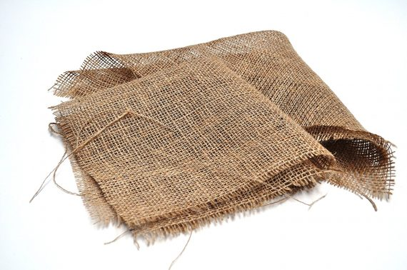 Hessian Squares - Additions to baskets - pond plants - water plants-0