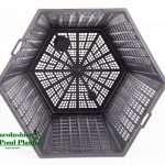 Hexagon basket - 3 Ltr Basket - Additions to plants - pond plants - water plants-0